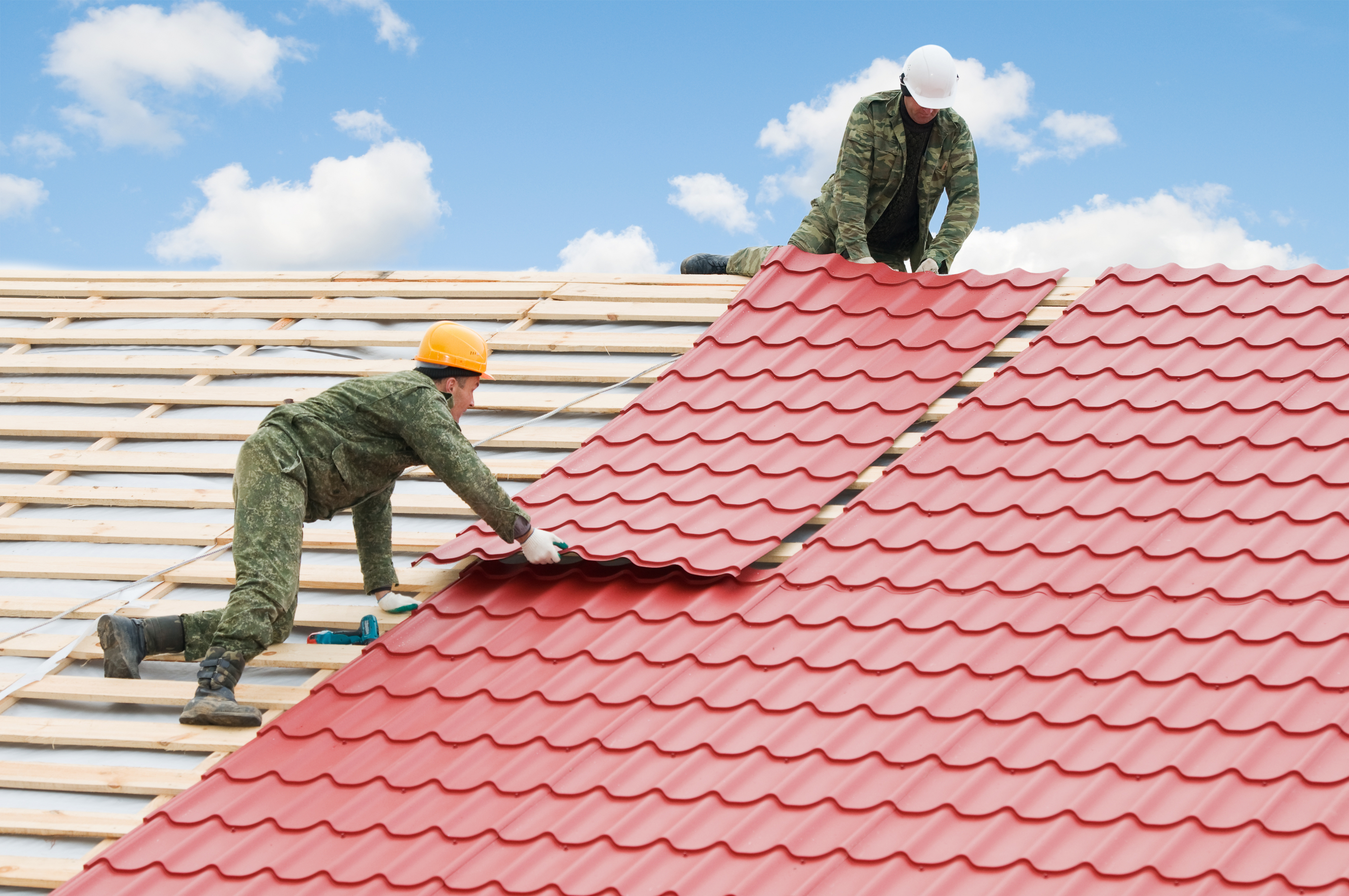 Apply Reflective Roof Paint to Keep Your Building Cool