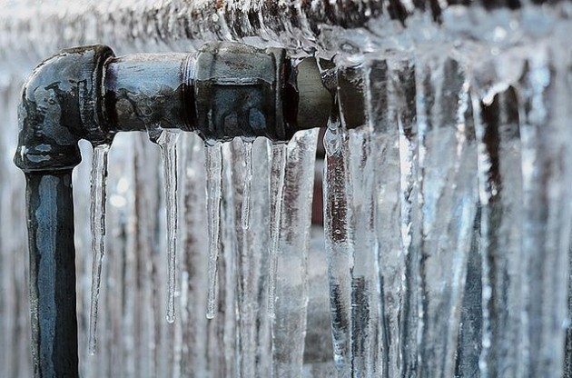 How to repair frozen pipes?