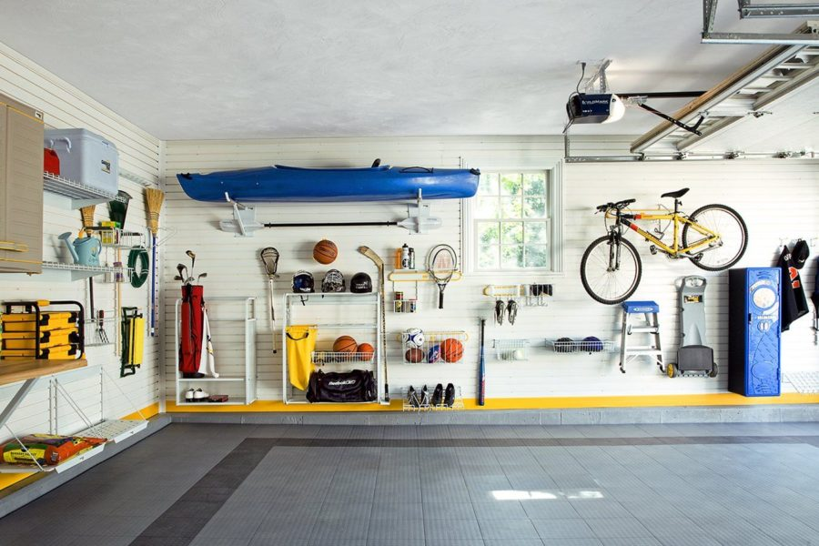 Top tips to organized your cluttered garage