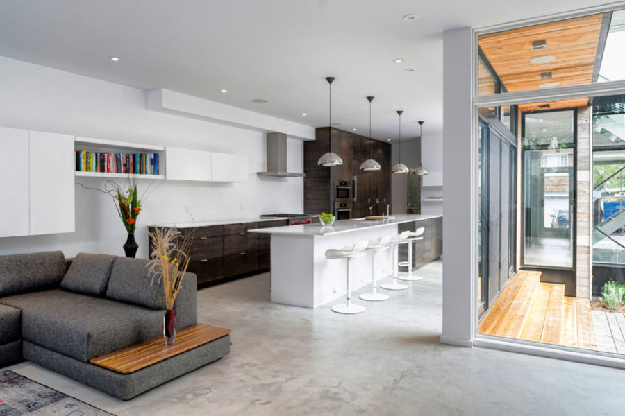What are the benefits of concrete flooring in your house?