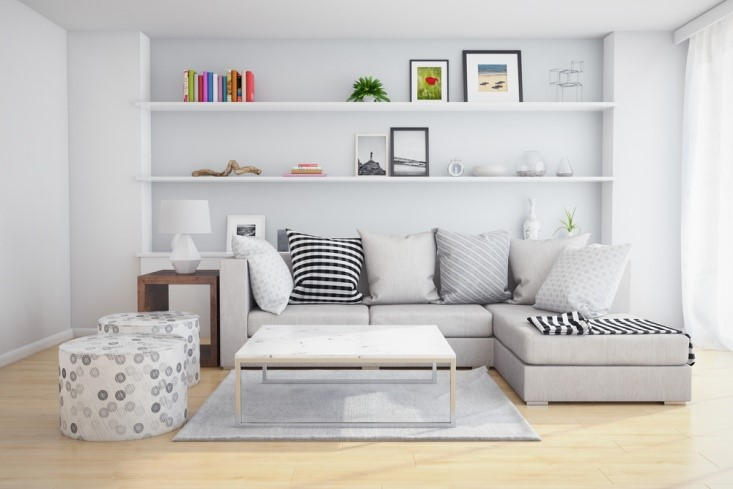 10 WAYS TO INCORPORATE GRAY IN YOUR LIVING ROOM DESIGNS